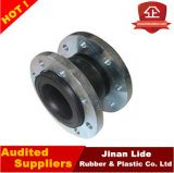 Single flexível Sphere Rubber Expansion Joints com Flange