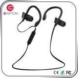 O rádio de Bluetooth ostenta o fone de ouvido com microfone