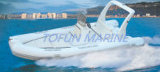 Barca gonfiabile della nervatura di Hypalon/PVC (RIB600)