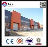 Entrepôt de structure métallique de panneau de mur de sandwich à ciment d'ENV