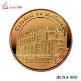 철/Custom Gift를 위한 Brass Metal Gold Souvenir Coin
