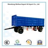 3개의 차축의 반 트럭 트레일러 가득 차있는 트레일러 50 톤 화물 수송기 측벽