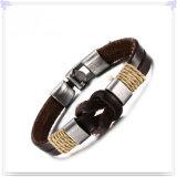 De Armband van het Leer van de Manier van de Charme van de Juwelen van het leer (LB369)