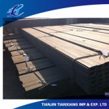 Stahlwarm gewalzter Standardu-Profilstäbe rahmen GB-JIS