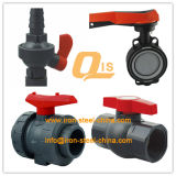 ASTM UPVC Socket Union Ball Valve voor Water Supply