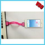 Câble de remplissage développé neuf de caractéristiques privées d'USB pour l'iPhone, galaxie de Samung (CI-069)