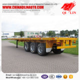 3 Flatbed Aanhangwagen van de as 40FT met Super Enige Band