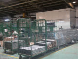 Wheelsの金属Warehouse Wire Cages