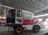 Uno mismo de la marca de fábrica de Shanyi que carga el carro del mezclador concreto para la venta