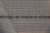Tela tingida fio da manta de T/R, 63%Polyester 34%Rayon 3%Spandex, 250g/Sm
