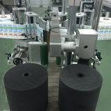 Máquina de etiquetado lateral del doble plano automático completo de la botella