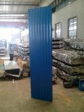 El acero galvanizado del color, colorea la hoja galvanizada revestida, hoja de acero galvanizada