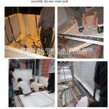 Tanque de água da preservação do calor da fibra de vidro/tanque de água isolado GRP