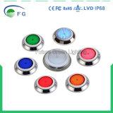 Lumière de syndicat de prix ferme remplie par résine vert-bleu rouge de la qualité 316 solides solubles DEL avec la garantie 2year