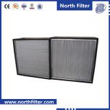 Filtro a temperatura elevata in profondità pieghettato industriale da HVAC HEPA con il separatore