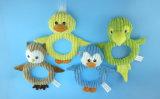 Haustier-Spielzeug mit vier Formen, Fallhammer, Frosch, Piggy und Ente
