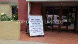 Подгонянный свободный полет солнечности Blackbord стороны двойника Signage сверхмощный рамка подписывает индикацию плаката доски сандвича Perth гигантскую Pushbikes Brisbane Colorbond напечатанную