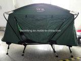 Im Freien kampierendes Schlussteil-faltendes kampierendes Zelt