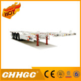 Semi-Trailer de esqueleto do recipiente do Gooseneck de Chhgc 3axle