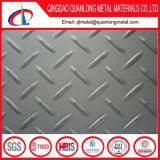 feuille Checkered gravée en relief de l'acier inoxydable 304 201