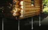 太陽系の地上アンカー山、高いすくいによって電流を通される地上ねじ