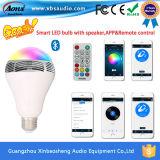 2016 새로운 Bluetooth 스피커 혁신적인 제품 인조 인간 Ios APP 통제를 가진 지능적인 Bluetooth LED 스피커 전구