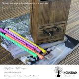 Держатель пер Hongdao изготовленный на заказ деревянный с рассекателями и ящиком Wholesale_L