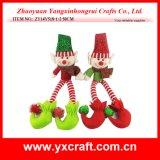 Decoración de Navidad (ZY11S318-1-2) Christmas Wizard Gift muñeca felpa elfo juguete