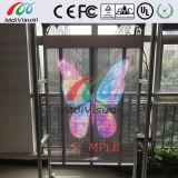 Светодиодный экран для наружного прозрачного стекла для магазинов