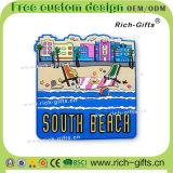 Spiaggia del sud personalizzata dei regali della decorazione del frigorifero del ricordo promozionale dei magneti (RC-US)