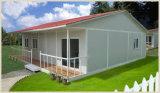 容易な構築の低価格の熱絶縁体のプレハブの家(XGZ-01087)