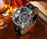 Cagarny 6819의 Mens 손목 시계 은 상자 다기능 미는 사람 및 작은 다이얼