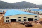 Здание мастерской/пакгауза стальной структуры большой пяди
