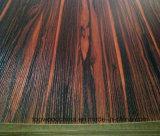 MDF impermeable del verde del panel de fibras de madera del grado de los muebles del MDF/de la melamina de la materia prima 15/16/17/18m m