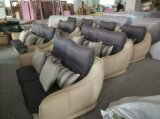 白い現代デザイン革ソファー、工場価格の良質(621)