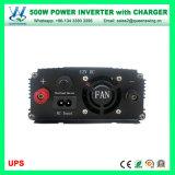 inversor da potência do carro da fora-Grade 500W com carregador do UPS (QW-M500UPS)