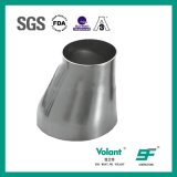 衛生学の管付属品のステンレス鋼の風変りな溶接された減力剤