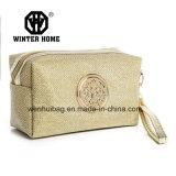 ジッパー開いた装飾的な袋のハンド・バッグが付いている方法布