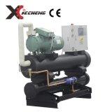 Singolo refrigeratore di acqua industriale della vite del compressore del sistema di raffreddamento