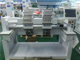 Spät computergesteuerte doppelte Hauptstickerei-Maschinen-elektronische Hut-Stickerei-Maschine