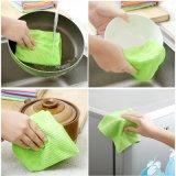 Toalla de limpieza de encargo de la venta caliente de la cocina de Microfiber
