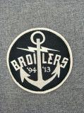 Correção de programa feita sob encomenda do emblema do bordado da lembrança para Ferro-na roupa