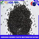 Grado HDPE/LDPE/LLDPE Masterbatch negro de la película con el carbón del 50%