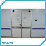 Ручная открыть дверь двойника качания с дверью - более близко