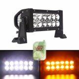 barre instantanée ambre blanche changeante d'éclairage LED de couleur de lumières pilotantes de 36W DEL pour le véhicule et la moto
