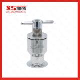 Válvula de exaustão sanitária do aço inoxidável