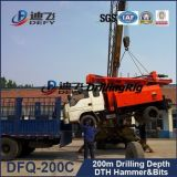 Hard Rockのための200m Truck Mounted Water Well Drilling Rig