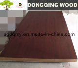 MDF de madera negro de la chapa de la nuez del grano con los 4ftx8FT