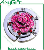 Cuore Shaped Metal Purse Hanger con Customized Color