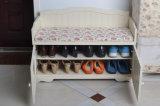 صلبة خشبيّة مسند للقدمين حذاء منصب جريدة مسنّنة ([م-إكس2087])